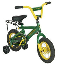 "New Tomy John Deere Heavy Duty 12"" Boy's Bicycle"