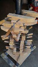 """ONE Vintage Jorgensen 12"""" Wood Wooden Furniture Clamp Threaded Turn Screw"""