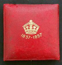 1897 - VICTORIA - Diamond Jubilee Bronze Medal IN CASE OF ISSUE 56mm - SN8973