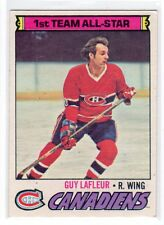 1X GUY LAFLEUR 1977 78 O Pee Chee #200 Montreal Canadiens ALL STAR