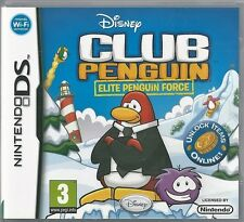 Nintendo Ds Disney Club penguin Elite Penguin Force (plays 3ds in 2D)