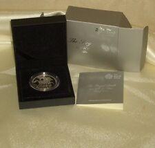 2013: nascita Reale il Principe Giorgio di Cambridge CINQUE STERLINE ARGENTO PROOF [Box/COA]