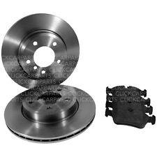 BMW E46 Apec Front Brake Discs 300mm And Pads 02/1998-