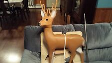 NEW Rare Union Blow Mold Buck Deer Reindeer? lawn Christmas decoration ornament