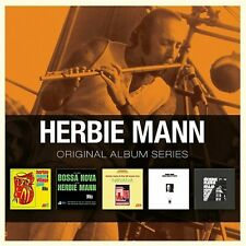 HERBIE MANN 5CD NEW Jazz Flute - Village Gate/Bossa Nova/Nirvana/Muscle/Hold On