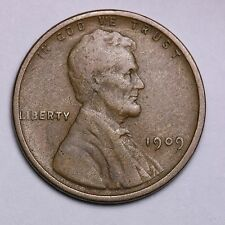1909 VDB Lincoln Wheat Cent Penny LOWEST COST ON EBAY!  SHIPS FREE!