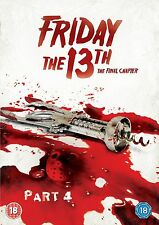 Friday The 13th - Part 4 DVD Kimberley Beck, Corey Feldman, Crispin Glover New