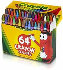 Professional Kids Painting Crayons 64 Ct Toys Baby Games Acrylic Craft Set decor