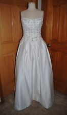 IVORY MOONLIGHT STYLE 9865 PRINCESS DROP WAIST COSTUME BRIDAL GOWN SIZE 10