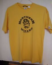 One True Saxon Northern Wizard Mens Yellow T-Shirt, Englands Finest, L