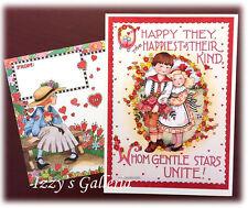 Vintage Mary Engelbreit Sunrise Gentle Stars Wishes Unite Engagement Card