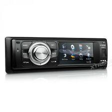 "Single DIN Car CD Aux MP3 DVD Player 3"" Touch Screen Stereo Radio RDS Bluetooth"