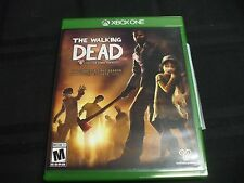 Replacement Case (NO VIDEO GAME) WALKING DEAD COMPLETE FIRST SEASON  XBOX ONE 1