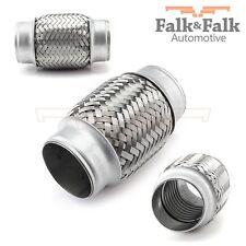 Tubo flex 50x120 flexible Pieza tubo Conducto Para Tubo De Escape acero inox.