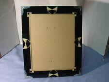 Vintage  Art Deco 1930s Jazz Age Reverse Painted Picture Frame