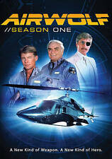 AIRWOLF - SEASON 1 (2 Disc Set) DVD. Like New.