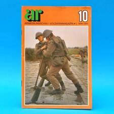 Armeerundschau 10-1980 NVA Volksarmee Soldatenmag. DDR-Zeitschrift Borchers C