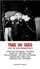 Thee Oh Sees Live In San Francisco Cassette Tape NEW limited pressing psych rock
