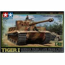 Tamiya] Model Kit 1/48 German Tiger I Late production 32575