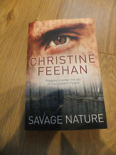 Savage Nature paperback Christine Feehan  (the 5th book)  leopard people