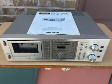 Vintage Pioneer CT-F1050 Cassette Deck- Original Owners Manual-120/240V See pics