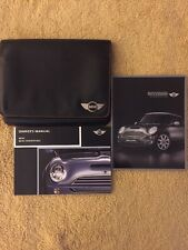 2006 MINI Cooper Hardtop/Convertible Owners Manual w/misc booklets (OEM)