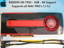 Sapphire Radeon HD 7950 3GB Apple MAC PRO Upgrade 1,1-5,1 with Power Cables