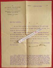 L.T.S 1923 Maurice ALLEM Entête La Muse Française Nouveau Mercure Problème Juif