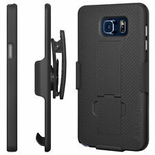 Fits Samsung Galaxy Note 5 Defender Style Case Belt Clip & Holster Shock Proof