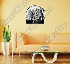 Zombie Dead People Cemetery Vampire Freak Wall Sticker Room Interior Decor 22""