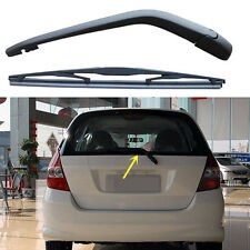 2PCS Black Rear Wiper Arm with Blade Set For Honda Fit/JAZZ 2004-2008