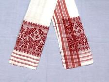 4' x 2' Cotton Phulam Gamocha (towel) for felicitation or daily usage in Assam