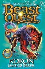 Beast Quest: 44: Koron, Jaws of Death by Blade, Adam