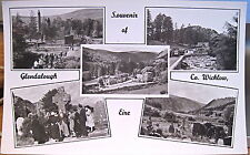 Irish RPPC Postcard GLENDALOUGH MULTIVIEW Wicklow Eire Ireland Cardall Photo