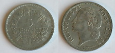 5 francs 1945 FRANCE Aluminium WW2