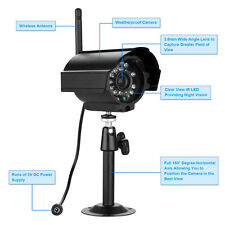 2.4GHZ Wireless Digital IR-Cut Night Vision Outdoor Camera for Home System Video