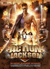 Action Jackson (2014)  - Ajay Devgan, Sonakshi Sinha - bollywood hindi movie dvd