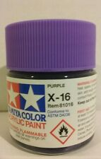 Tamiya acrylic paint X-16 Purple 23ml