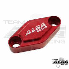 Suzuki LTR 450 LTR450  Parking Brake Blockoff Plate  Block off Plate Red