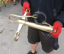 New brass horse drawn pole head for teams and pairs
