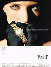 PUBLICITE   1994    PIAGET   COLLECTION  montre POLO