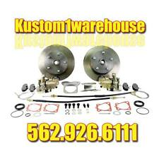 Rear disc brake conversion kit for 68-72 VW 5 lug Chevy w/emergency parking