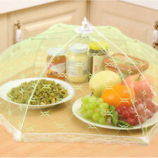 Foldable Lace Meals Cover Tent Barbecue Kitchen Picnic Fly Mosquito Mesh Net New