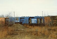 Z120 RP 1980/90s? B&M BOSTON & MAINE RAILROAD ENGINE #1734 SCRAP