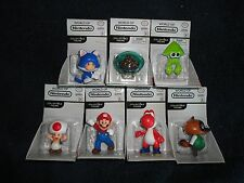 WoN Complete Set of 7 Walmart Exclusive figures METROID, RED YOSHI, RED TOAD,,,,