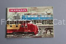 E156 Catalogue TRAIN MARKLIN 1965 1966 F 62 pages auto miniature construction