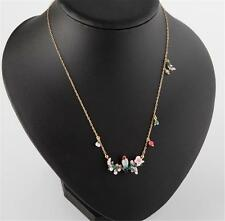 Les Néréides Bird on a Branch of Cherry Blossom Necklace