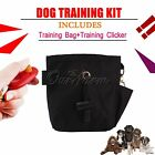 New Dog Pet Puppy Reward Treat Training Bait Clicker Ball Pouch Waist Bag