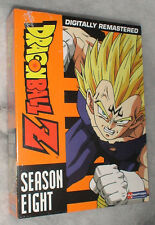 Dragon Ball Z: Temporada 8 Ocho SIN CORTAR DVD Box Set - NUEVO PRECINTADO