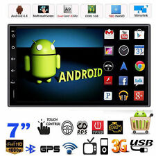 """Android 4.4 WIFI GPS Navi 7"""" Double 2 Din Car Radio Stereo MP5 Player Bluetooth"""